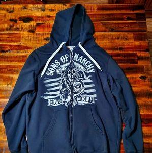 Sons of Anarchy Biker Hoodie - Redwood Original